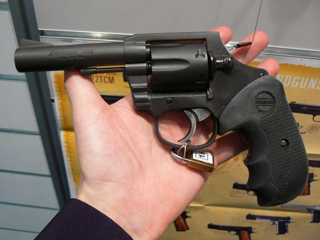 Как сделать мелкашку револьвер 142