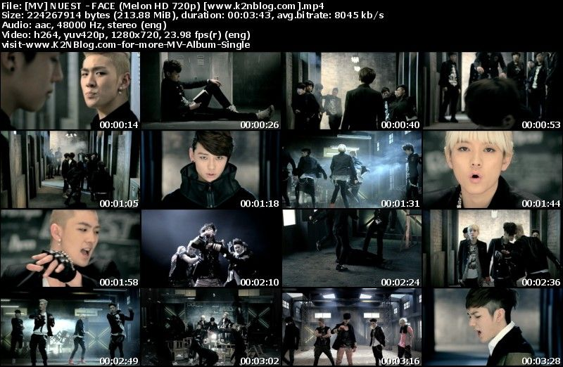 [MV] NU'EST - FACE (Melon HD 720p)