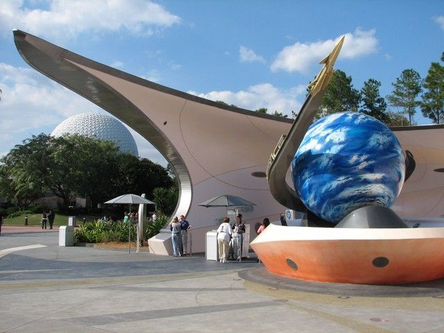 Future World at EPCOT - Universe of Energy, Mission: SPACE ...