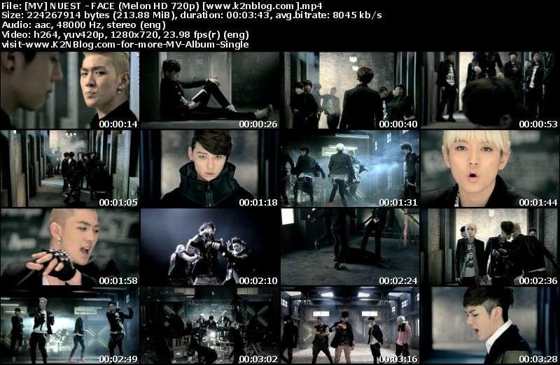 [MV] NU'EST - FACE (Melon HD 720p)